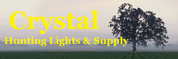 Crystal Hunting Lights & Supply - LED Hog & Coon Hunting Lights