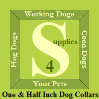 Supplies 4 Working Dogs Family - One & Half Inch Dog Collars