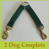 2 Dog Nylon Couplet