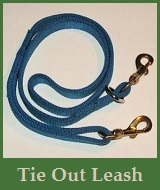Tie Out Hunting Leashes with Couplets